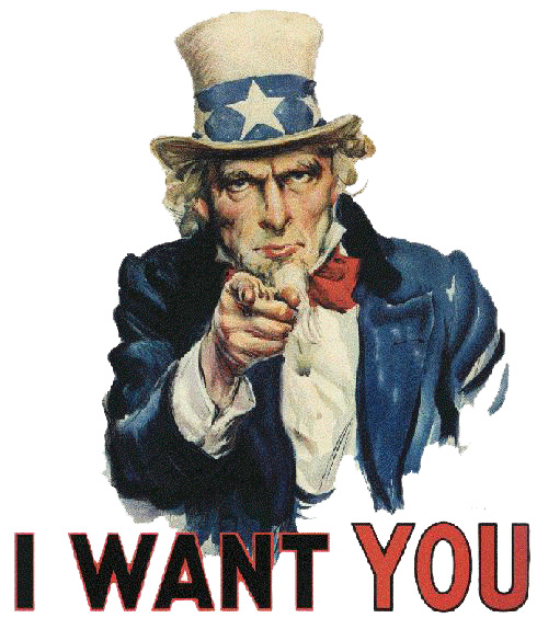 I WANT YOU FOR GiWY!